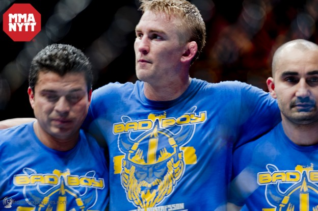 "UFC presenterar officiellt Alexander Gustafsson vs Mauricio ""Shogun"" Rua för UFC on Fox 5 i Seattle"