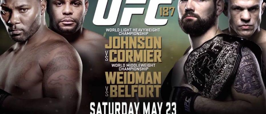 UFC 187 Chatt - MMANytt.se