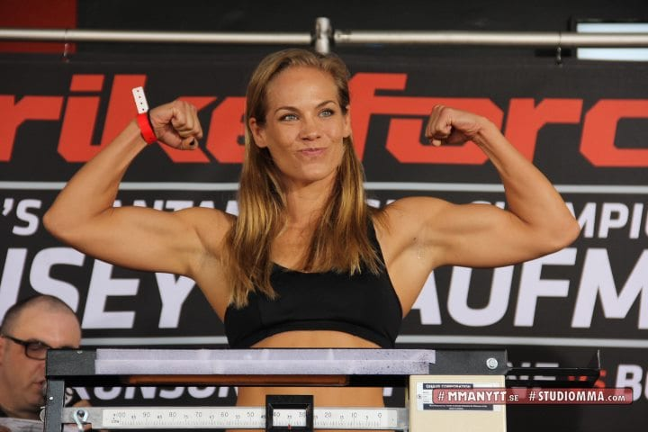 MMAnytt Strikeforce Julie Kedzie