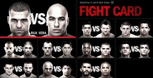 UFC on FOX 4 matcher