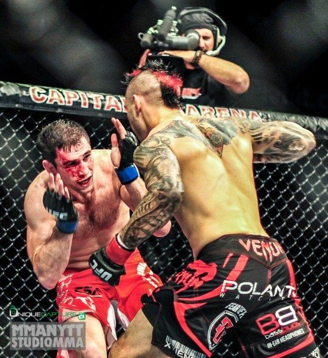 MMAnytt UFC Nottingham UFC on Fuel 5 Amir Sadollah vs Dan Hardy Outlaw (1)