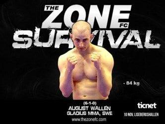 August Wallén gör comeback på The Zone FC: Survival