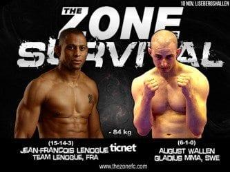 The Zone FC 11: Survival – Jean-Francois Lenogue vs August Wallén