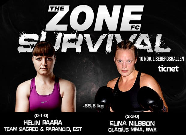 The Zone FC 11: Survival – Elina Nilsson vs Helin Paara