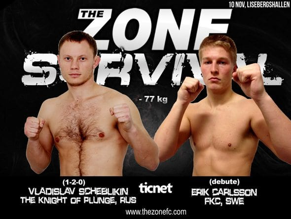The Zone FC 11: Survival – Vladislav Scheblikin vs Erik Carlsson