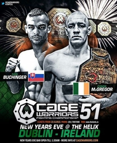Cage Warriors 51 – Resultat