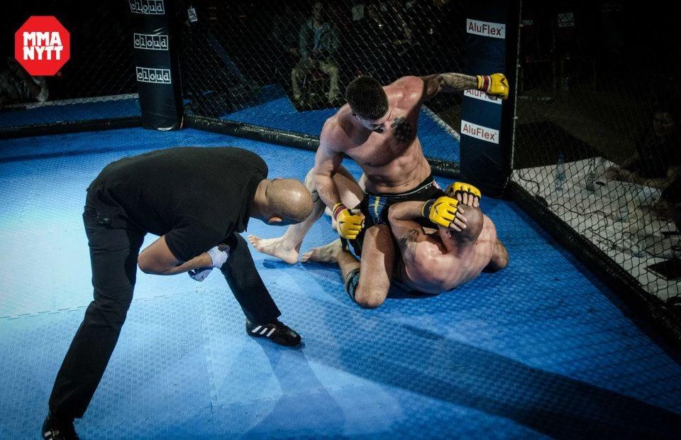 MMAnytt Christian Golcic vs Jani Istvan Foto - Mattias Persson