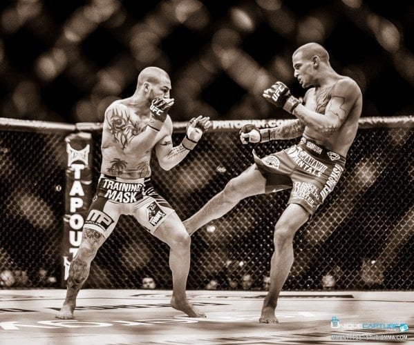 UFC 195: Dustin Poirier besegrar Joe Duffy via domslut efter en blodig match