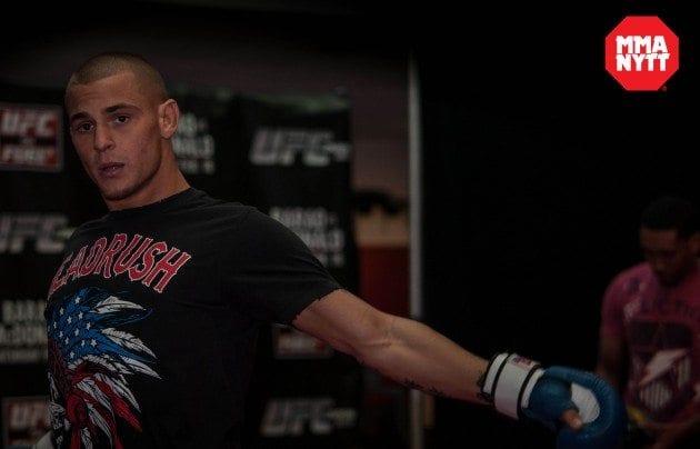 """Dustin Poiriers näsa bruten på två ställen efter UFC 195: """"Har ont i ansiktet"""""""