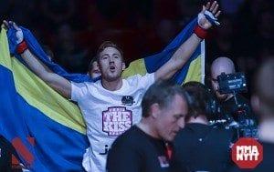 """Chris Spång till MMAnytt: """"Så jävla roligt att vara här igen!"""""""