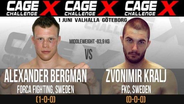 Cage Challenge X: Alexander Bergman vs Zvonimir Kralj