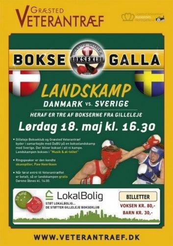 Danmark segrade över Sverige i ungdomslandskamp i boxning
