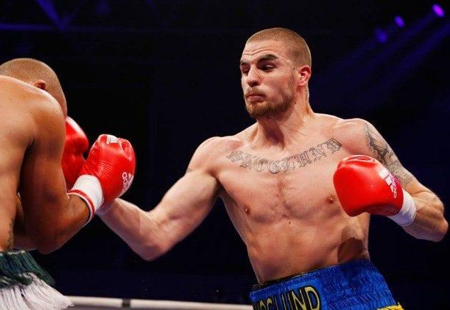 Erik Skoglund tar hem WBA-titel efter TKO-seger över Timy Shala