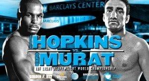 Bernard Hopkins vs Karo Murat den 13:e Juli i New York är inställd