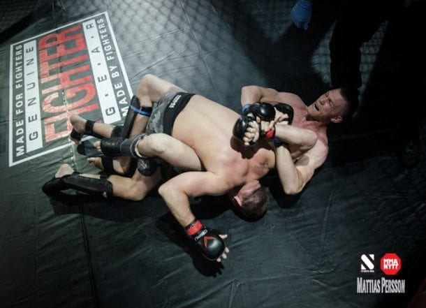 Linus Andersson vs Alejandro Ferreira Trophy MMA II