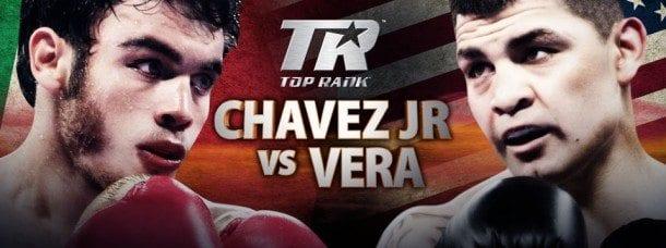 TV10 direktsänder Julio Cesar Chavez vs Brian Vera söndag morgon den 29:e september - Chavez-vs_Vera-610x228