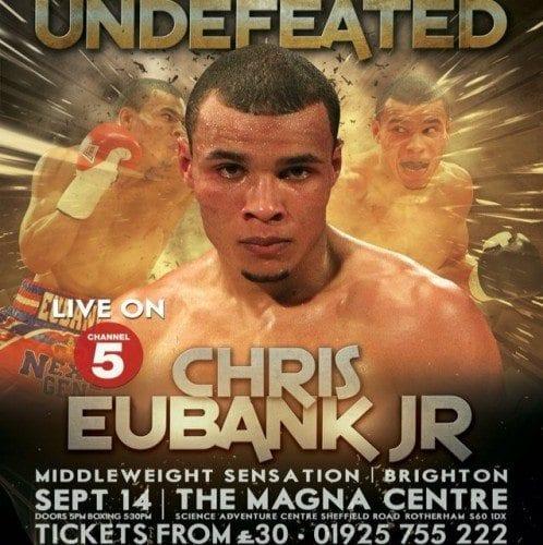Chris Eubank Jr TKO-slog bulgaren Alexey Ribchev för elfte raka segern helgen som gick