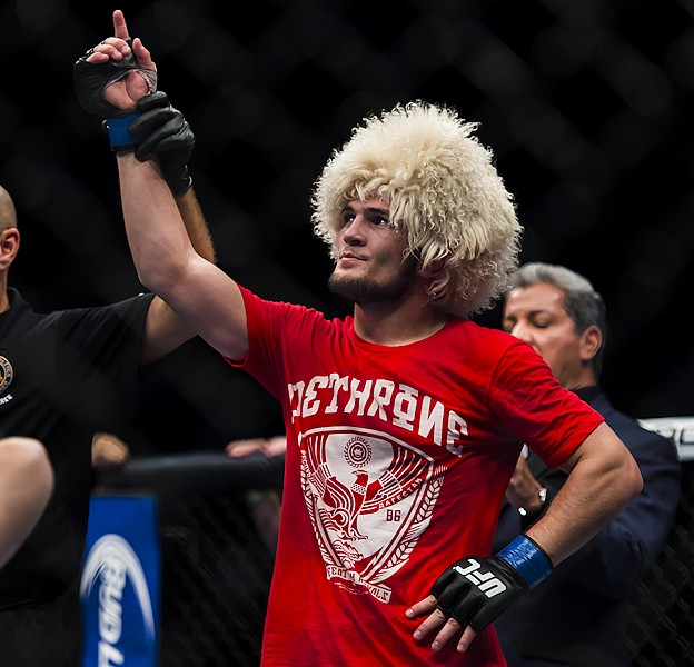 MMAnytt Khabib Nurmagomedov vs Pat Healy 15 UFC 165 Foto - Micha Forssberg