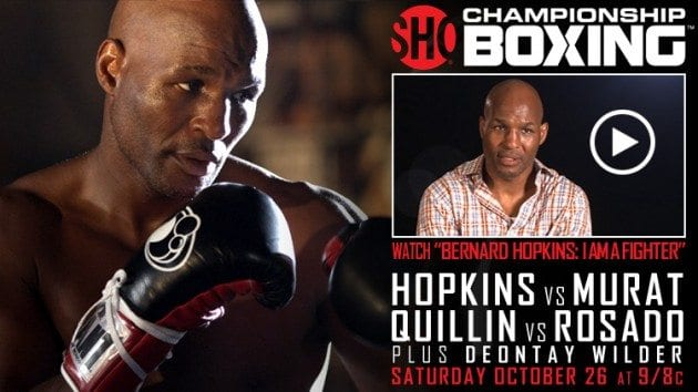"Bernard Hopkins ""I am a fighter"" videoklipp (Showtime)"