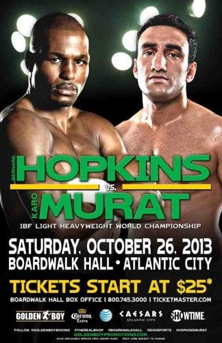 Invägning Bernard Hopkins vs Karo Murat, Peter Quillin vs Gabriel Rosado, och Wilder vs Firtha (video)