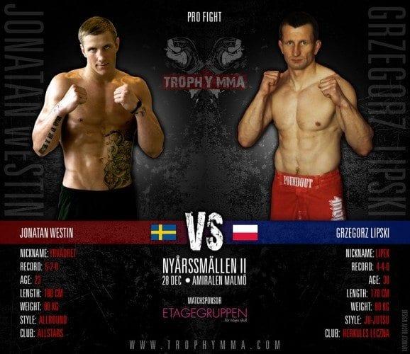 Trophy MMA III: Jonatan Westin vs Grezgorrz Lipski
