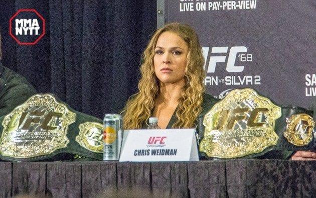 Ronda Rousey bojkottar media inför UFC 207