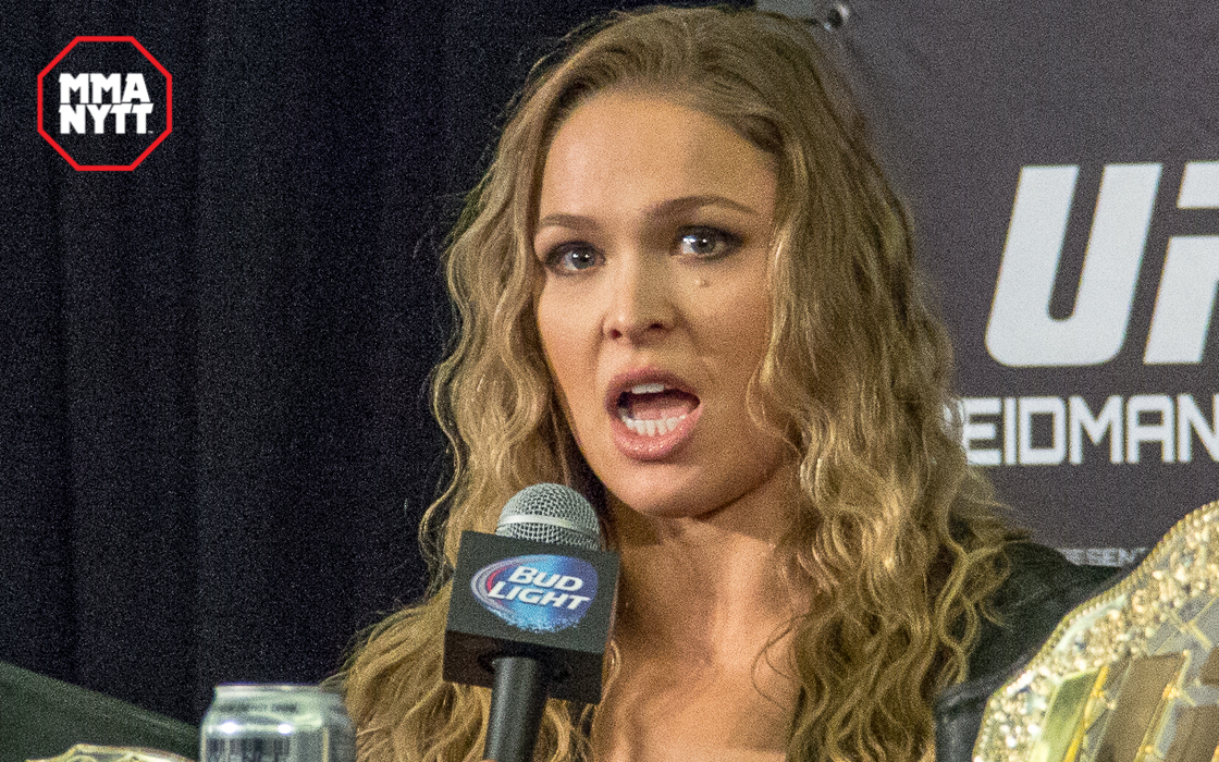 Rousey förlorade för första gången, men får med sig en Fight of the Night-bonus som tröst.