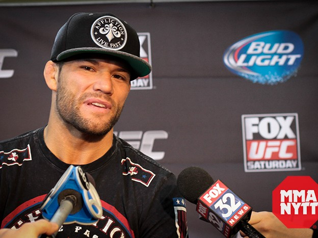 MMAnytt Josh Thomson UFC on FOX 10 Foto - Patrick Jenkinson