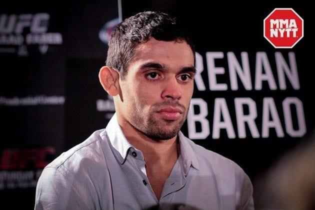 Renan Baraos fuling från nattens invägning: UFC Fight Night 88: Almeida vs. Garbrandt