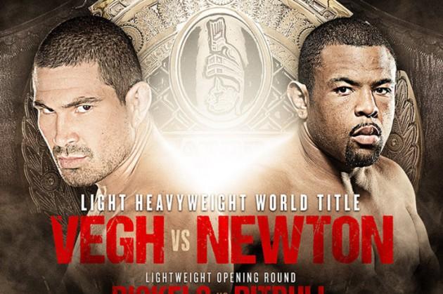 Bellator 113: Vegh vs Newton – Resultat