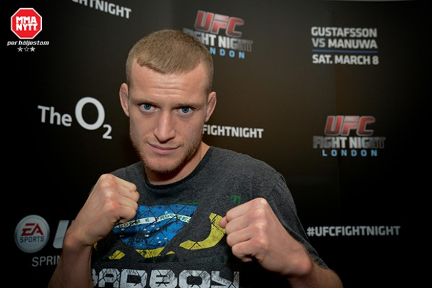 UFC Fight Night 37: Davey Grant stoppas från att gå match