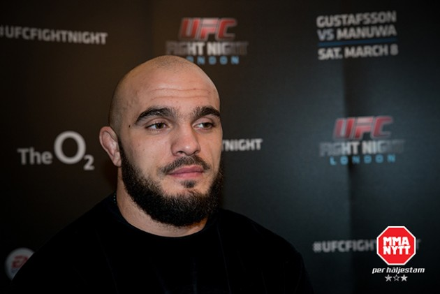 Ilir Latifi möter Jan Blachowicz på UFC Fight Night 53 i Stockholm