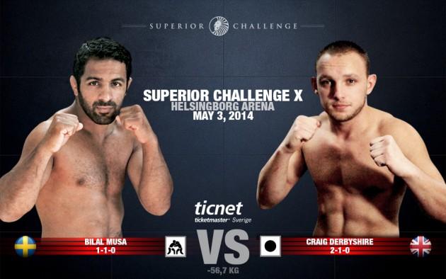 Superior Challenge X – Bilal Musa möter Craig Derbyshire