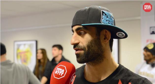 """Mohammed Babadivand till MMAnytt: """"Egentligen ville jag avsluta på knock"""""""