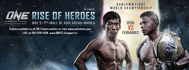 ONE FC 15: Rise of Heroes – Resultat