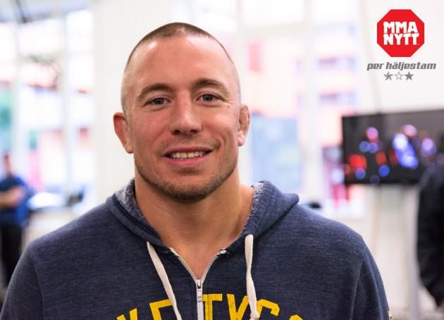 Fredagsfråga: Vem borde Georges St-Pierre möta på UFC 206?