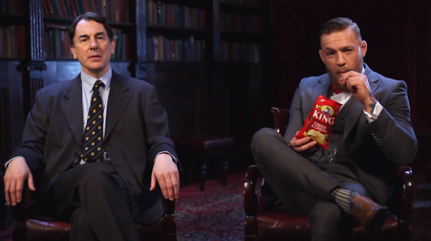 Video: Conor McGregor i Chips-reklam