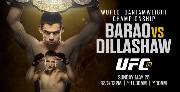 UFC 173: Huvudkortet – Betygen