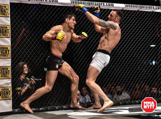 Danska Damir Hadzovic bokad för match på UFC 203: Miocic vs. Overeem
