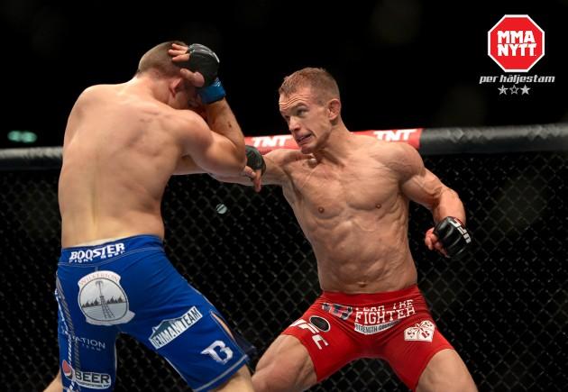 Ny lättviktsmatch klar för UFC: Rotterdam