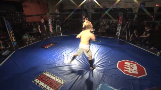 Videor från SM i Amatör-MMA och Shootfighting
