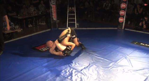 Videor från SM i amatör-MMA och Shootfighting (2)