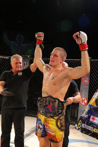 MMAnytt.se intervjuar Zebastian Kadestam efter vinsten på PXC