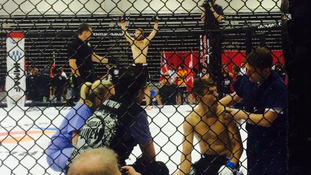 Amatör MMA VM – Jimmie Jensen vinner sin första match