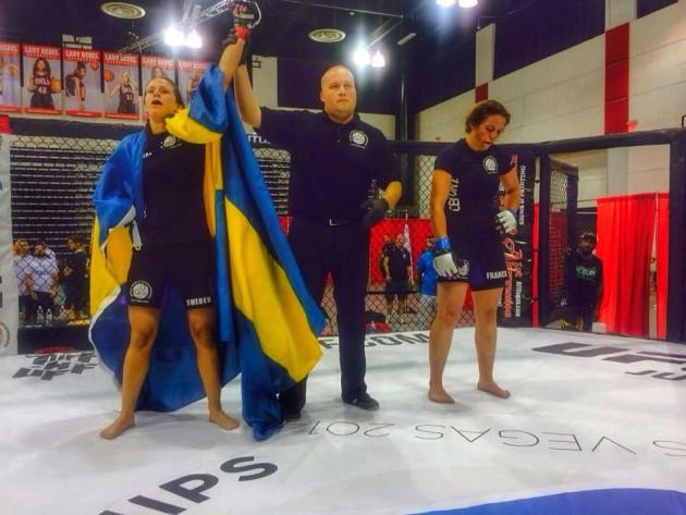 VM i amatör-MMA: Intervju med finalisten Jill Holmström