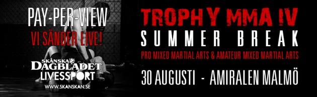 Invägningsresultat från Trophy MMA IV – Summer Break