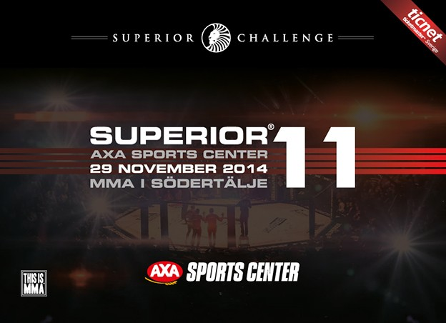 Superior-Challenge-11-MMA-i-Sodertalje-Promo
