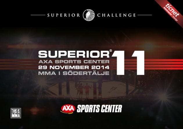Superior Challenge 11: Fyra nya matcher officiella