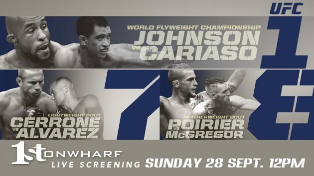 UFC 178: Medicinska avstängningar