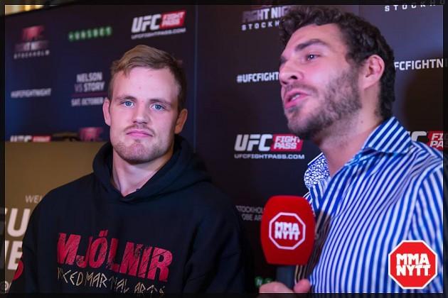 """Gunnar Nelson om viktminskningar i MMA: """"Jag gillar det inte och det borde tas bort"""""""